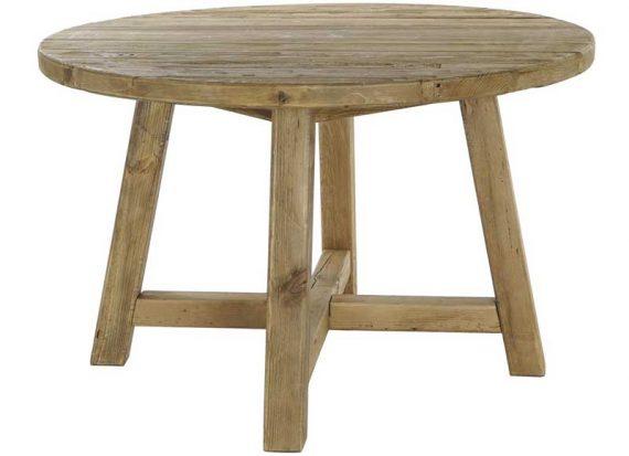 mesa-comedor-rustica-redonda-madera-reciclada