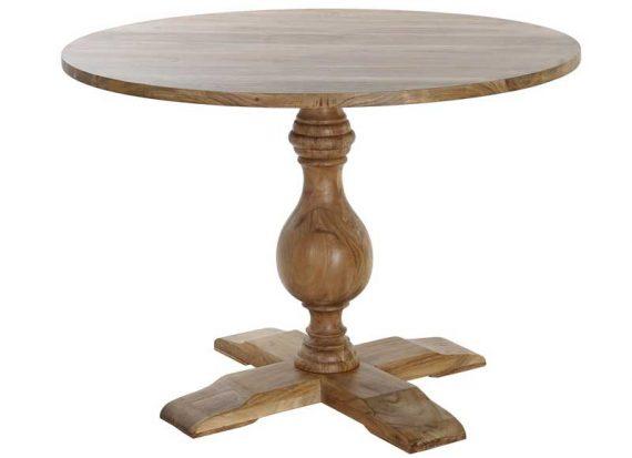 mesa-comedor-rustica-redonda-pie-central