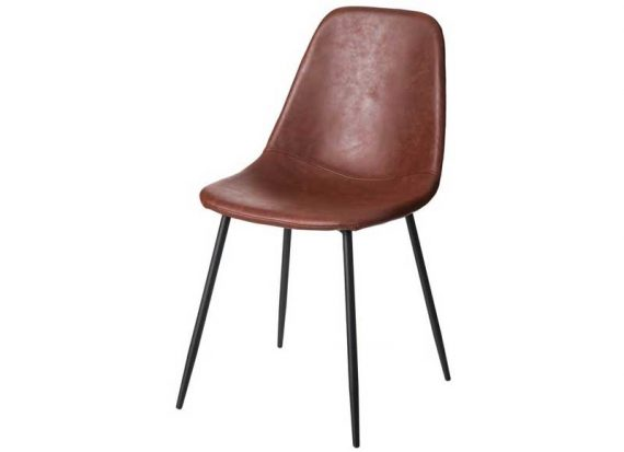 silla-nordica-polipiel-marron