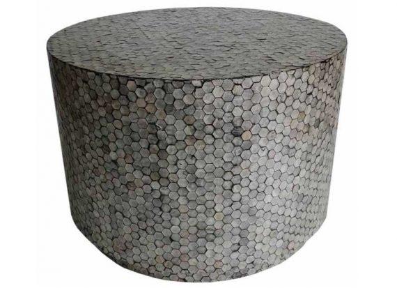 mesa-auxiliar-redonda-mosaico-hexagonos-nacar