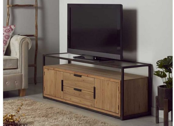 mueble-television-industrial-madera-cristal