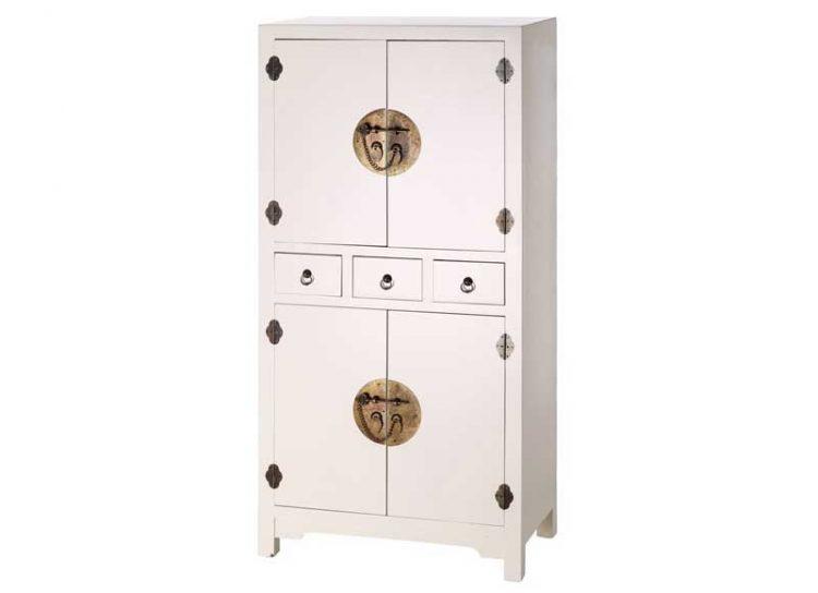 armario-oriental-blanco-pequeño-4-puertas