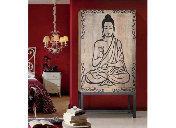 armario-oriental-buda-tallado-madera