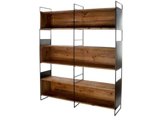estanteria-ancha-huecos-trasera-madera-metal