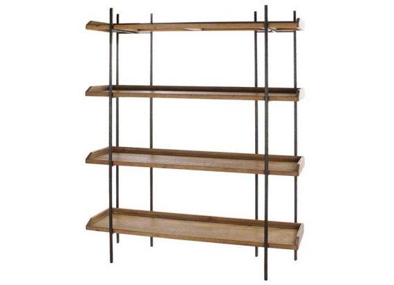 estanteria-industrial-ancha-sencilla-madera-metal