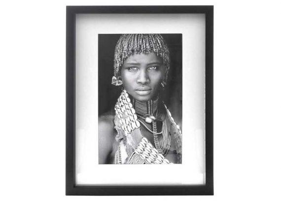 cuadro-mujer-africana-blanco-negro