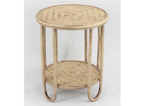 mesa-auxiliar-pequeña-circular-rattan-natural