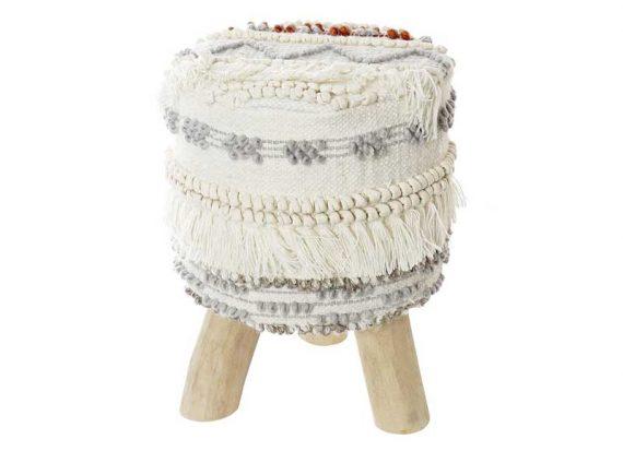 taburete-pequeño-lana-madera-natural