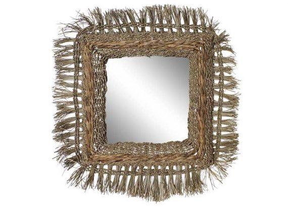 espejo-cuadrado-fibra-natural-flecos