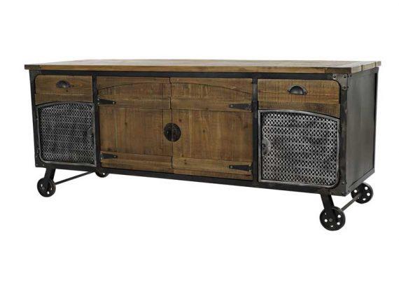 mueble-television-industrial-ruedas-madera-rustica-metal