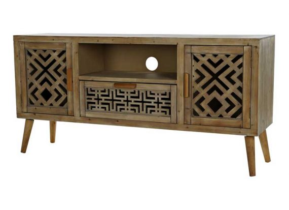 mueble-television-oriental-madera-calada
