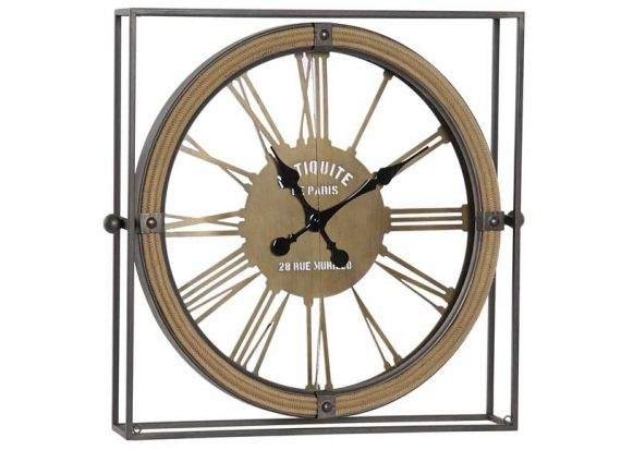 reloj-pared-sobremesa-industrial-metal-cuerda