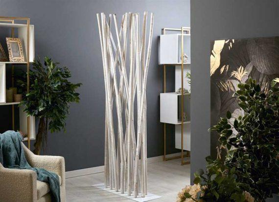 biombo-separador-cañas-bambu-blanco