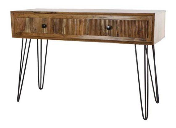 consola-rustica-madera-acacia-patas-metal