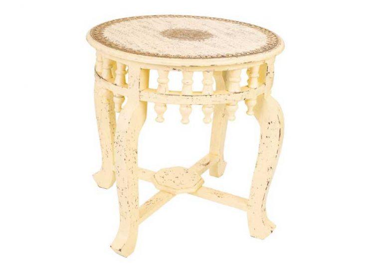 mesa-auxiliar-redonda-arabe-blanca-decorada