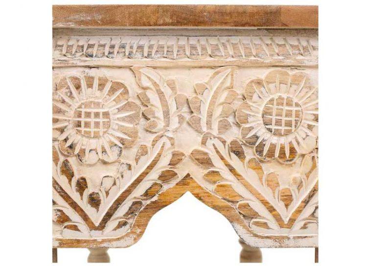 mesa-centro-india-octogonal-natural-blanca-detalle