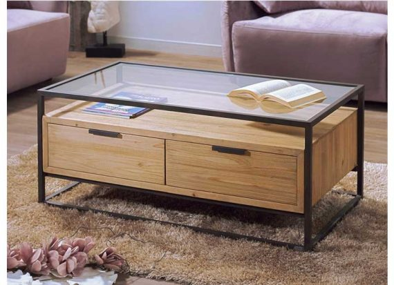 mesa-centro-madera-abeto-tapa-cristal-cajones