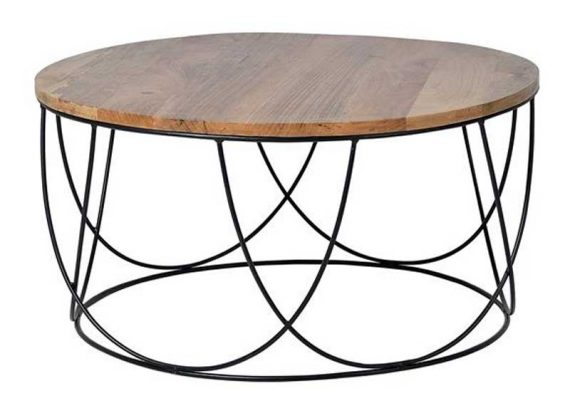 mesa-centro-redonda-madera-maciza-metal-negro