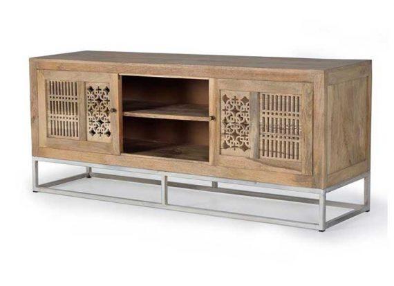 mueble-television-talla-puertas-correderas-madera-natural