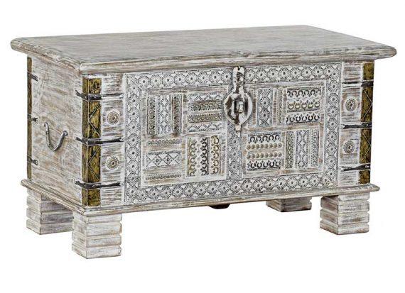 baul-indio-blanco-madera-adornos-metal
