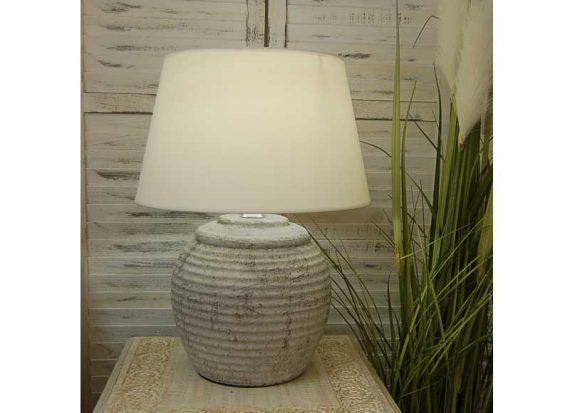 lampara-sobremesa-terracota-blanca-anfora