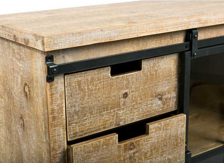 mueble-auxiliar-industrial-puerta-corredera-cajones-detalle