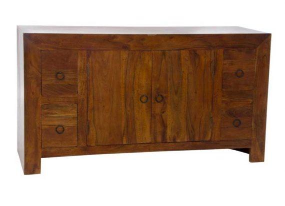 mueble-television-colonial-madera-maciza-acacia