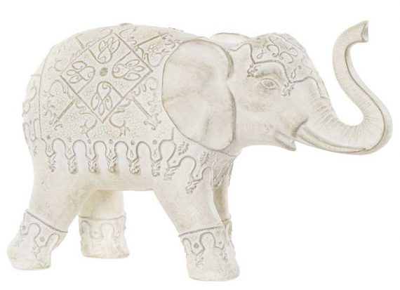 figura-elefante-blanco-trompa-arriba