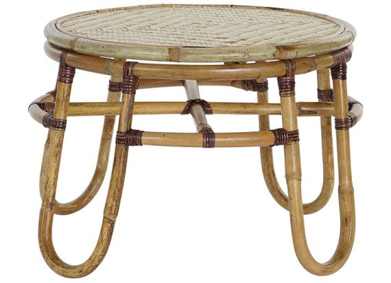 mesa-auxiliar-baja-redonda-bambu-rattan