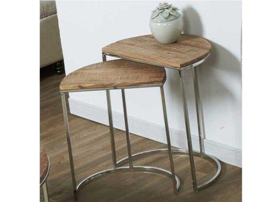 mesas-nido-madera-acero