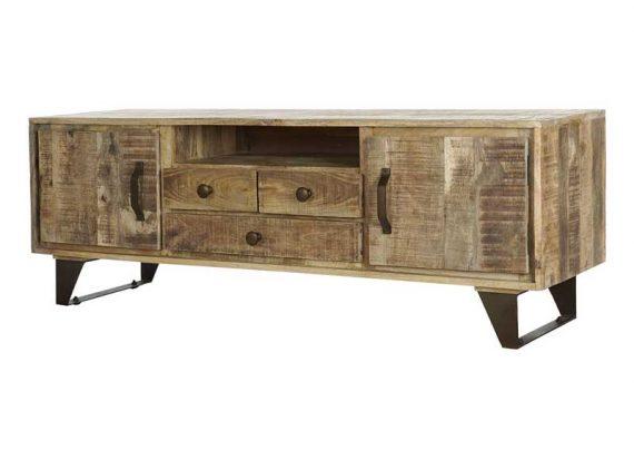 mueble-rustico-madera-natural-metal