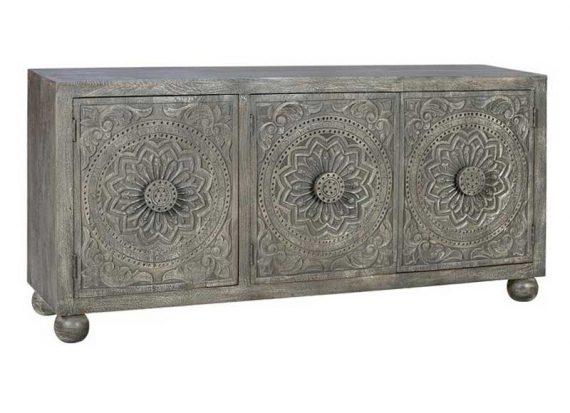 aparador-hindu-mandala-madera-maciza-gris
