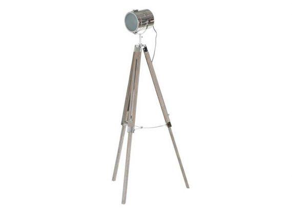 lampara-pie-tripode-madera-foco-metal