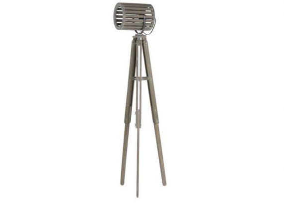 lampara-pie-tripode-madera-gris