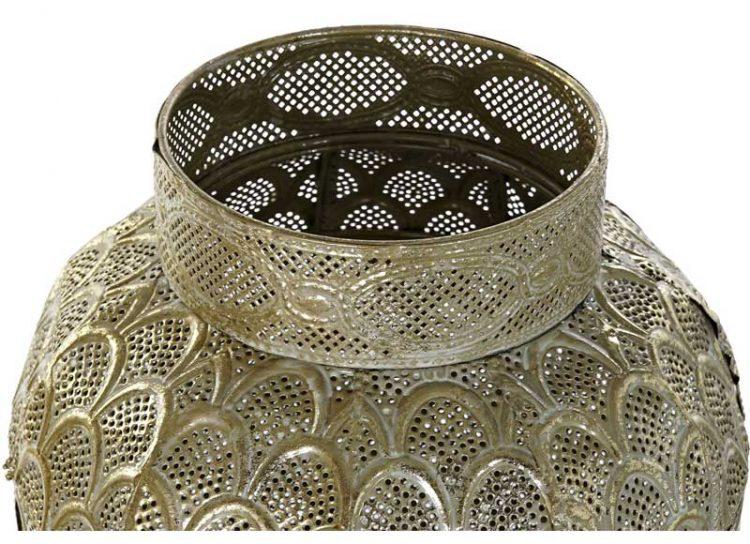 lampara-suelo-arabe-metal-plata-dorada-detalle