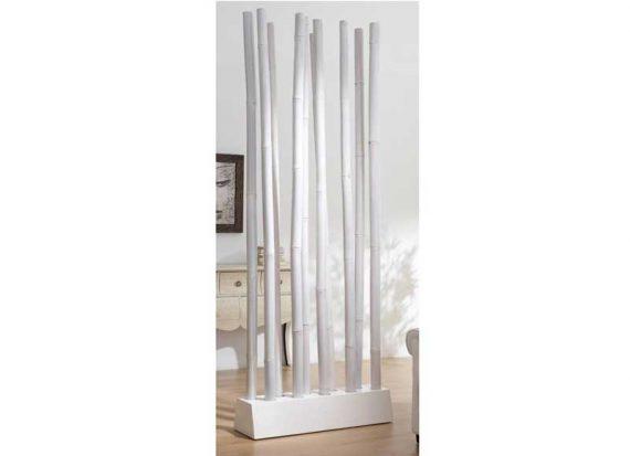 separador-alto-cañas-bambu-blanco