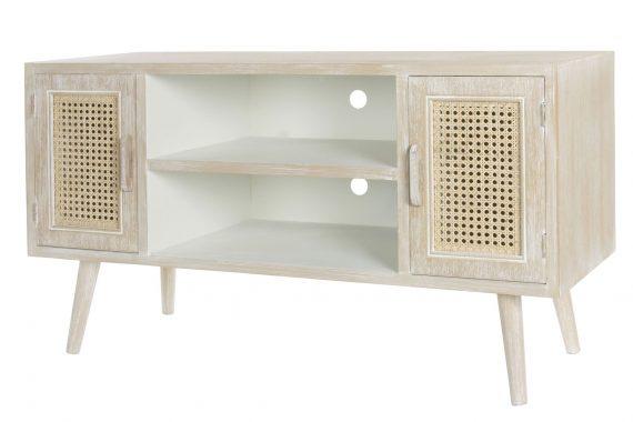 mueble-television-nordico-pequeño-puerta-rejilla