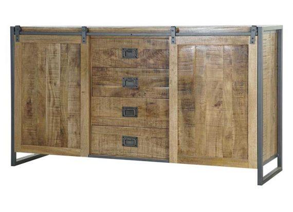 aparador-rustico-madera-maciza-puertas-correderas