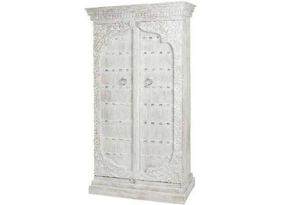 armario-arabe-blanco-madera-maciza-anillas