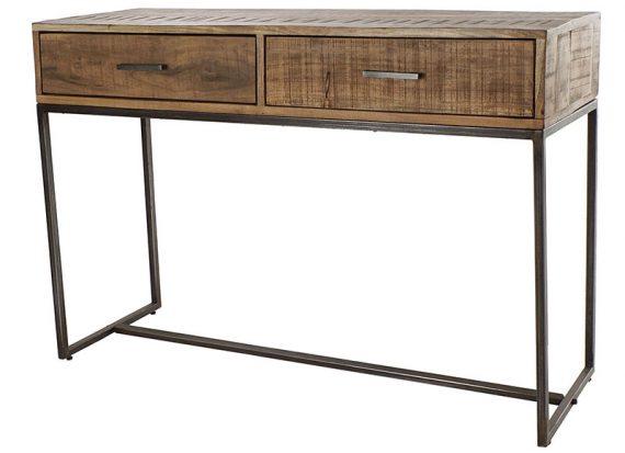 consola-rustica-patas-metal-madera-acacia