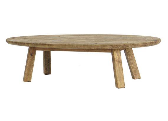 mesa-baja-rustica-ovalada-madera-reciclada