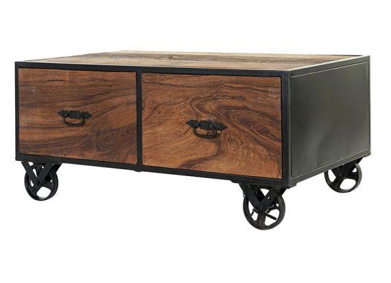 mesa-centro-industrial-pequeña-ruedas