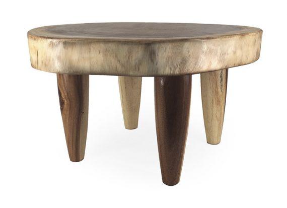 mesa-centro-rustica-pequeña-tronco-redonda