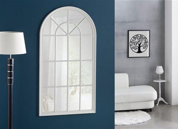 espejo-alargado-arco-superior-blanco