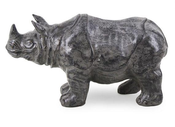figura-rinoceronte-terracota-gris-oscuro