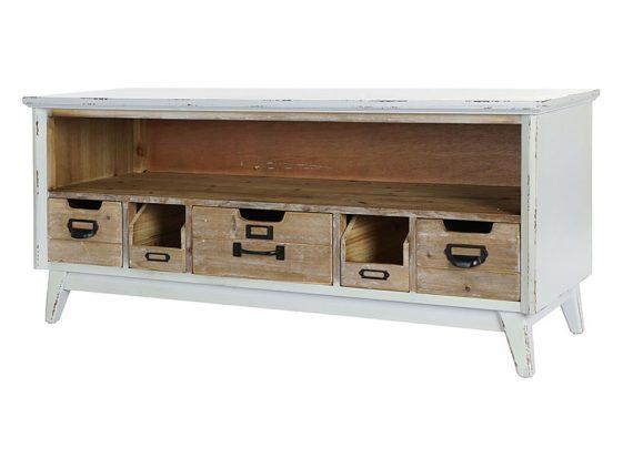 mueble-television-rustico-blanco-natural