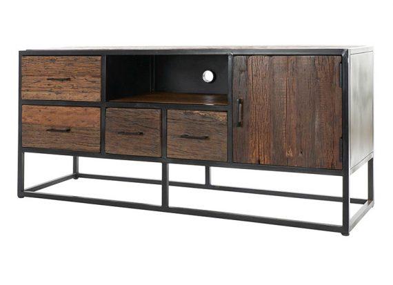 mueble-television-rustico-industrial-madera-reciclada