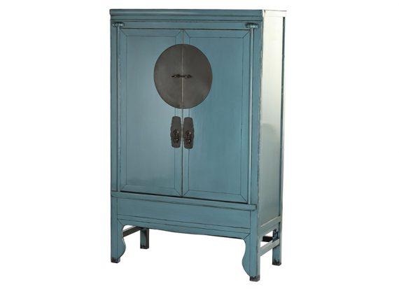 armario-chino-azul-envejecido-medallon
