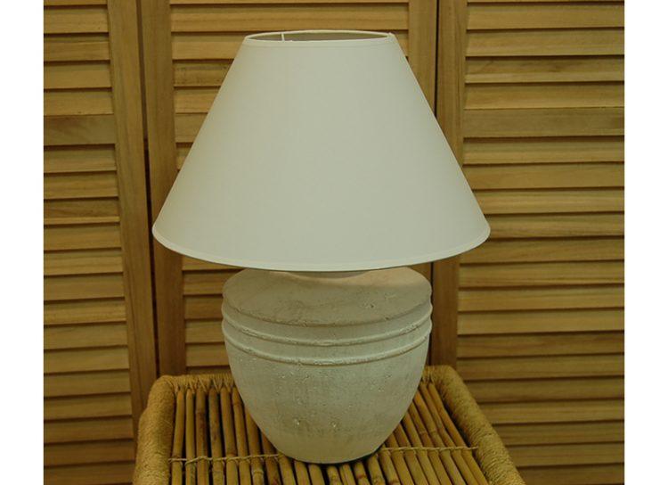 lampara-sobremesa-terracota-blanca-dos-rayas