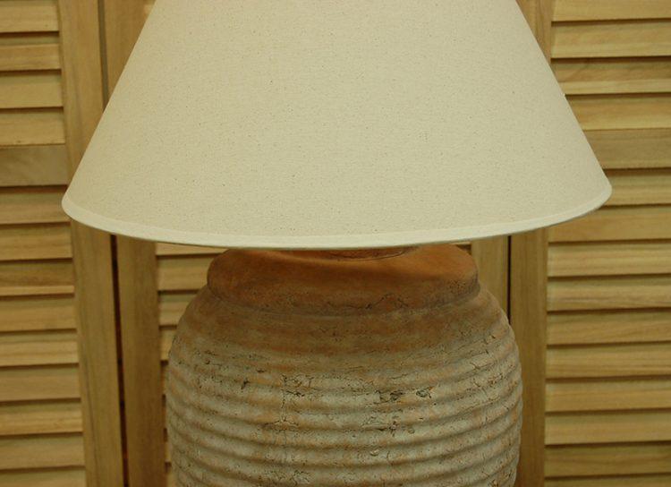 lampara-sobremesa-terracota-grande-rayas-detalle